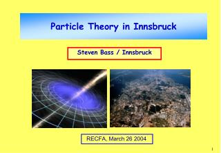 Particle Theory in Innsbruck