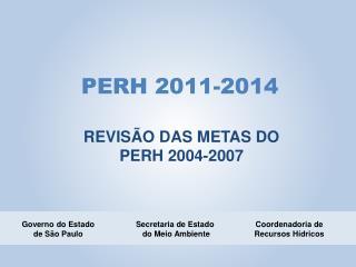 PERH 2011-2014