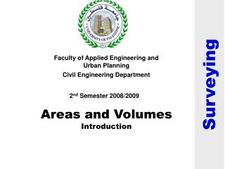 Areas and Volumes Introduction