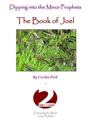 Dipping into the Minor Prophets The Book of Joel