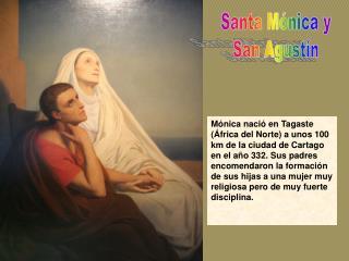 Santa Mónica y San Agustín