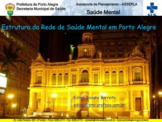 Prefeitura de Porto Alegre Secretaria Municipal de Saúde