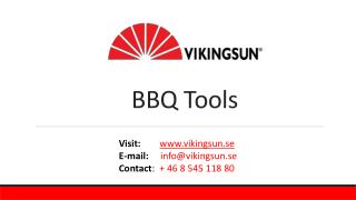 BBQ Tools designed by Man Law from Vikingsun