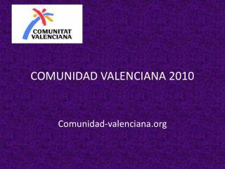 COMUNIDAD VALENCIANA 2010