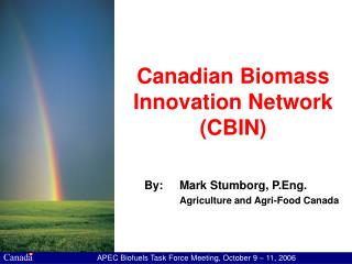 Canadian Biomass Innovation Network (CBIN)