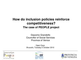 How do inclusion policies reinforce competitiveness?  The case of PEOPLE project
