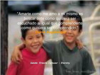 Sonido:  Ernesto Cortazar - Eternity