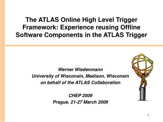 HLT Algorithm Online Integration
