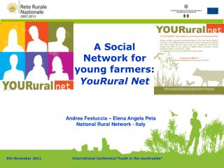 A Social Network for young farmers:  YouRural Net