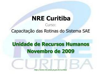 NRE Curitiba