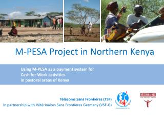 M-PESA Project in Northern Kenya