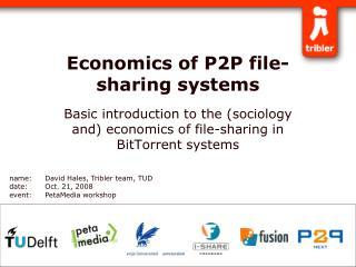 Economics of P2P file-sharing systems