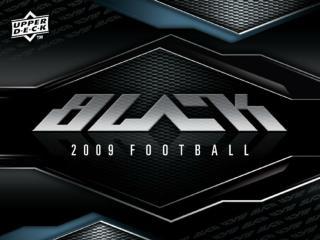 2009 UD Black Football