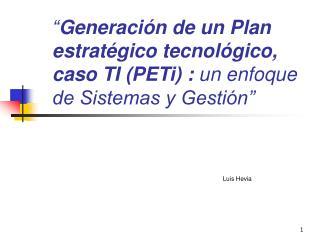 Luis Hevia