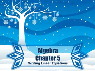 Algebra Chapter 5