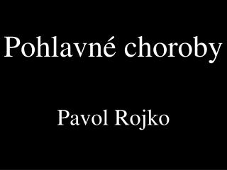 Pohlavn� choroby