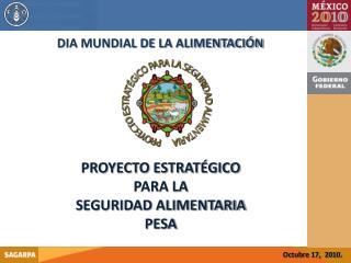 DIA MUNDIAL DE LA ALIMENTACIÓN