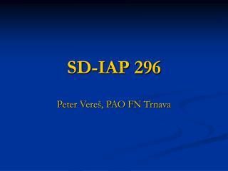 SD-IAP 296