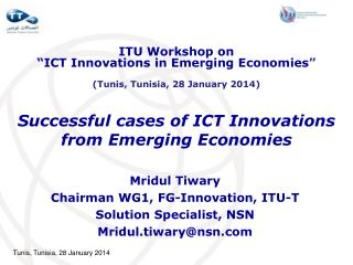 Successful cases of ICT Innovations from Emerging Economies