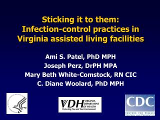 Sticking it to them: Infection-control practices in Virginia assisted living facilities