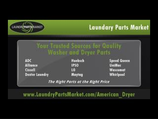 ADC American Dryer Laundry Parts