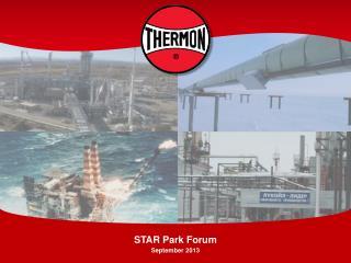 STAR Park Forum September 2013