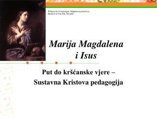 Marija Magdalena i Isus