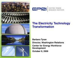The Electricity Technology Transformation