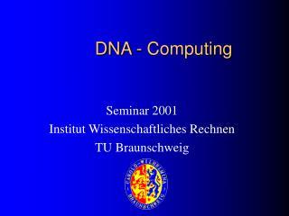DNA - Computing