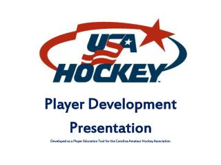 Player Development Presentation