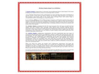 Get best Commercial design & decoration, window display, pos