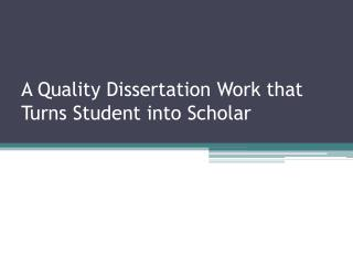 Dissertation Writing Help Australia