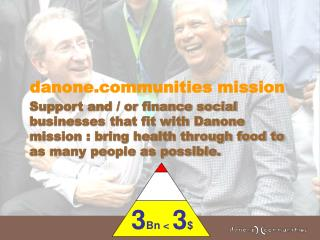 danonemunities mission