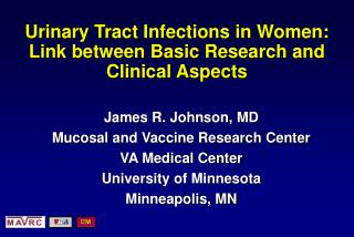 Urinary Tract Infections in Women: Link between Basic Research and Clinical Aspects