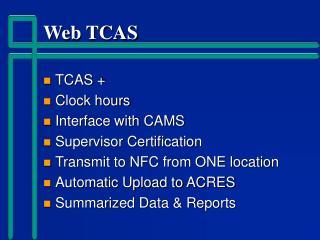 Web TCAS