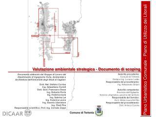 Piano Urbanistico Comunale - Piano di Utilizzo dei Litorali