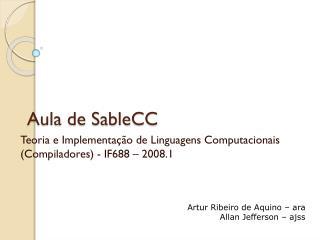 Aula de SableCC