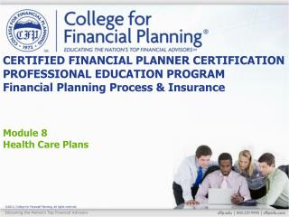 Module 8 Health Care Plans