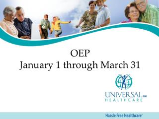 OEP  January 1 through March 31