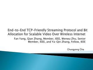 Fan Yang, Qian Zhang, Member, IEEE, Wenwu Zhu, Senior Member, IEEE, and Ya-Qin Zhang, Fellow, IEEE