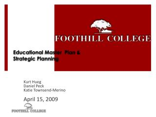 Educational Master  Plan & Strategic Planning