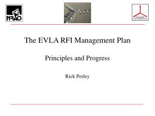 The EVLA RFI Management Plan
