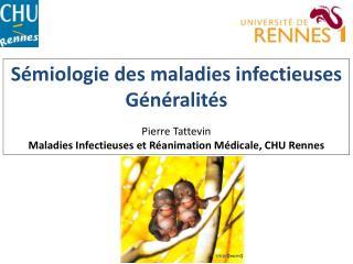 Sémiologie des maladies infectieuses Généralités Pierre Tattevin