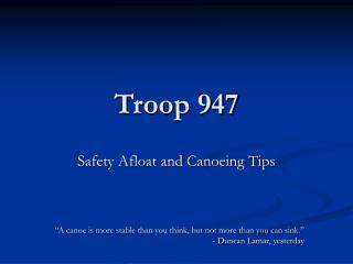 Troop 947