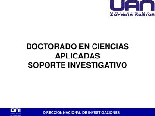 DIRECCION NACIONAL DE INVESTIGACIONES