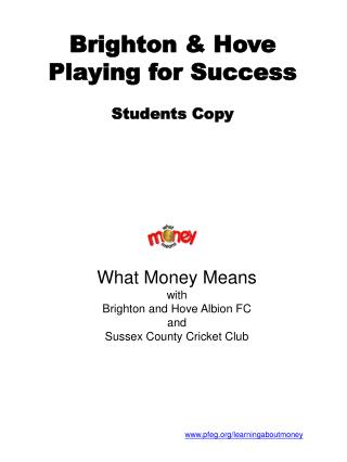 Brighton & Hove Playing for Success Students Copy