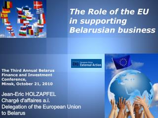 The Role of the EU  in supporting Belarusian business