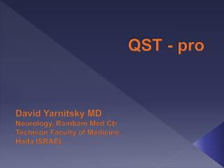QST - pro