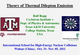 Theory of Thermal Dilepton Emission
