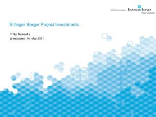 Bilfinger Berger Project Investments